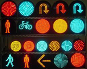 LED Traffic Light Faces