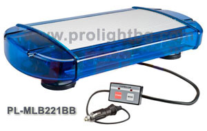 LED mini-Lightbar blue 221