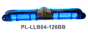 LED Vehicle Lightbars PL-LLB04-126BB Blue-Blue