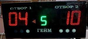 LED Scoreboard Volleyball